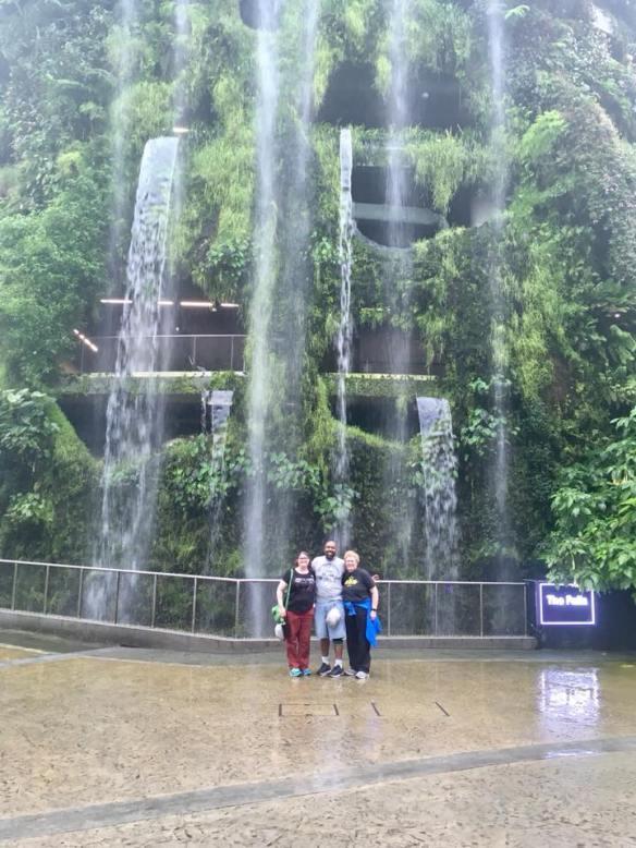 Inside Falls